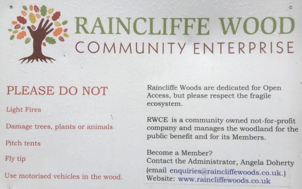 Raincliffe Wood, Community Enterprise, Contact