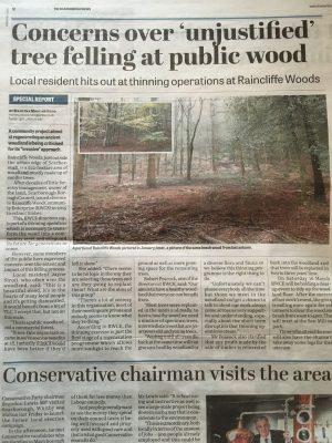 Scarborough News, Raincliffe Woods